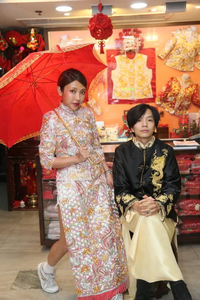 鍾舒祺與結他手李恒韜本月中舉行一連兩天婚禮。