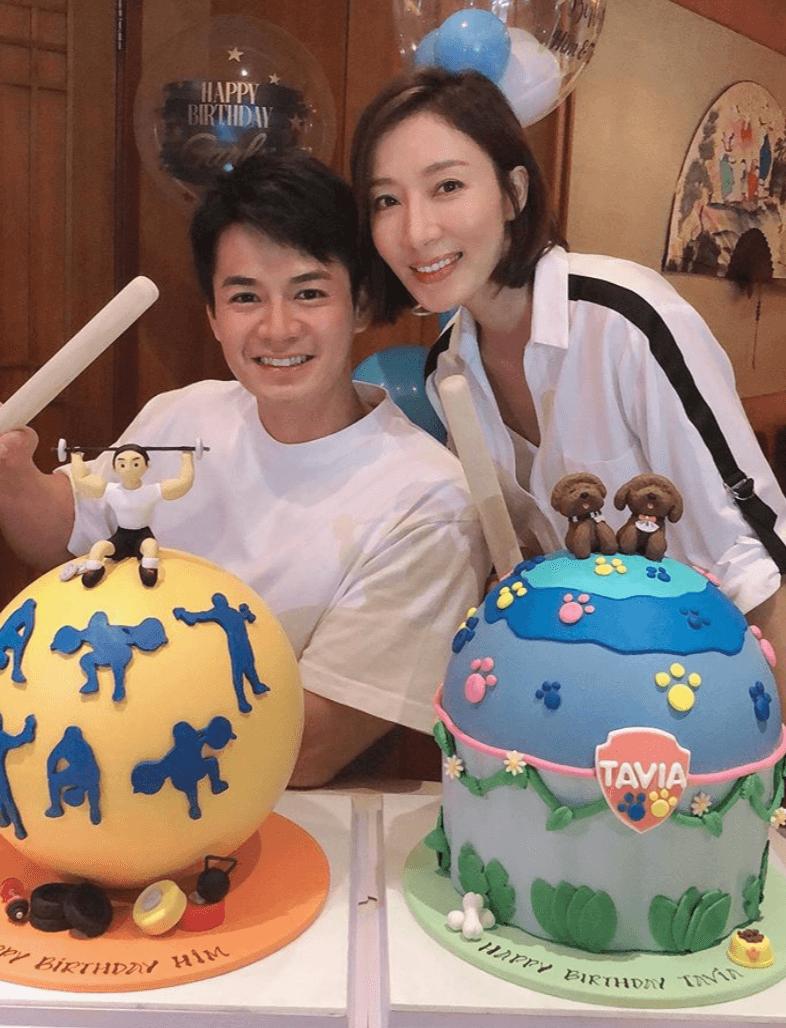 8月份兩公婆一同慶祝生日