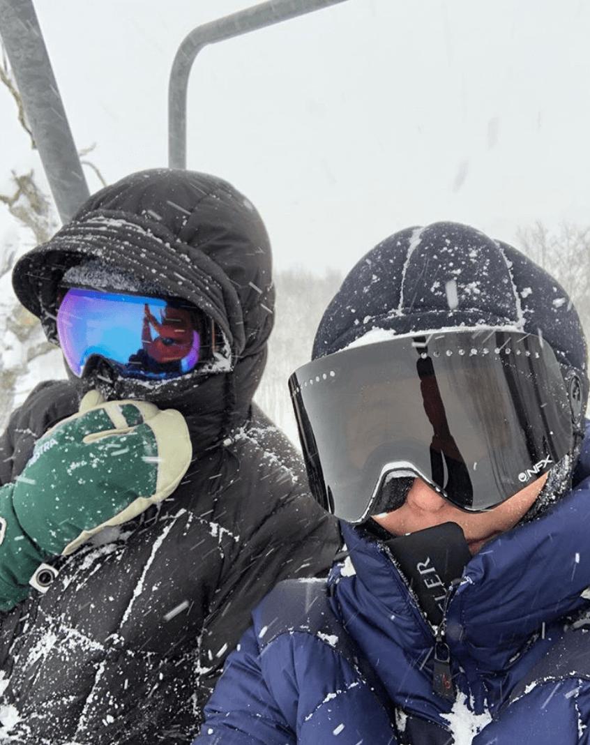 每年都會到日本滑雪