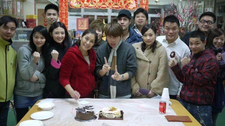 君妍曾跟楊盼盼學中國功夫,對拍戲有幫助。