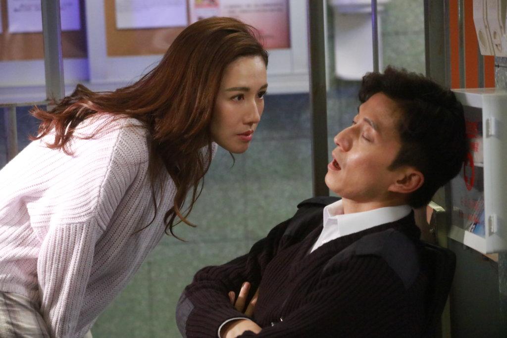 陳山聰與李施嬅在劇中有段前世今生愛情故事,