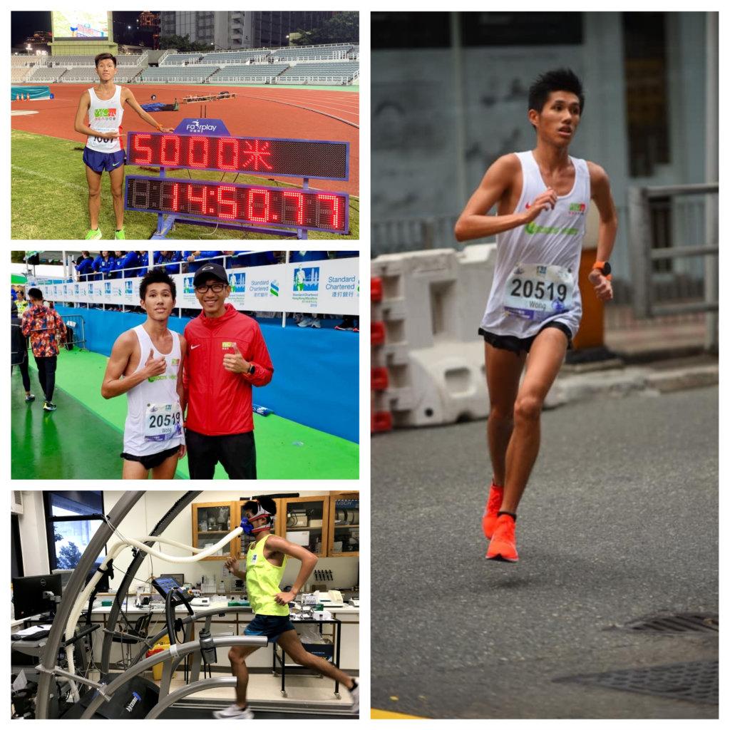 黃尹雋在長跑路上起步遲,但進步快令他對達標充滿信心。