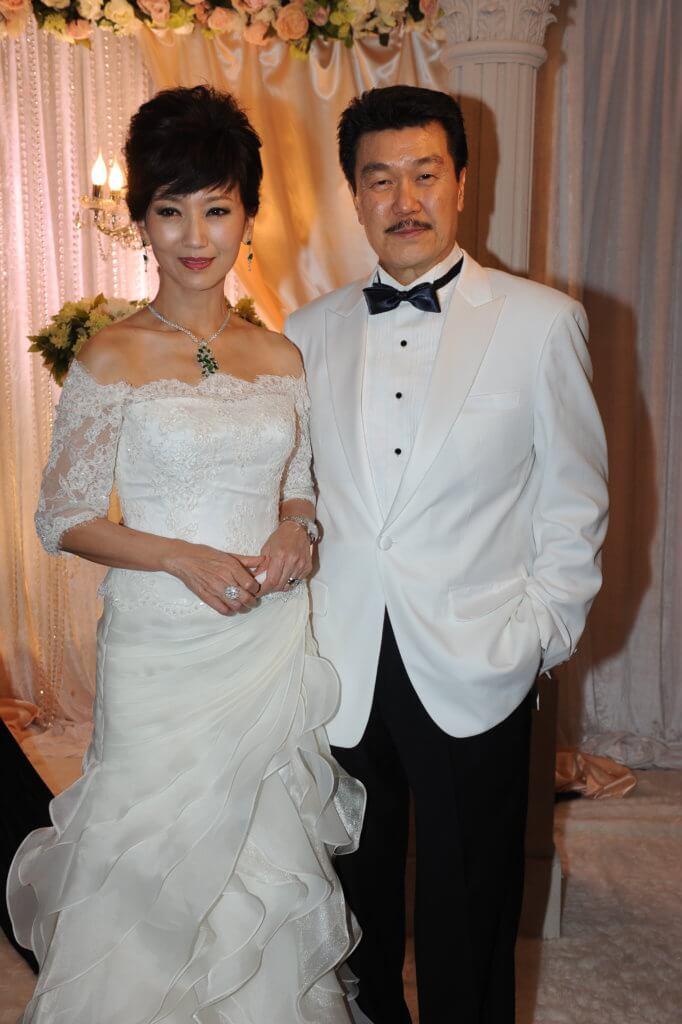 趙雅芝和黃錦燊出席公開場合常被讚登對