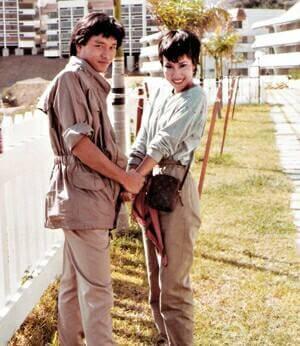 文雪兒和張國榮合作過《小小心願》等劇集