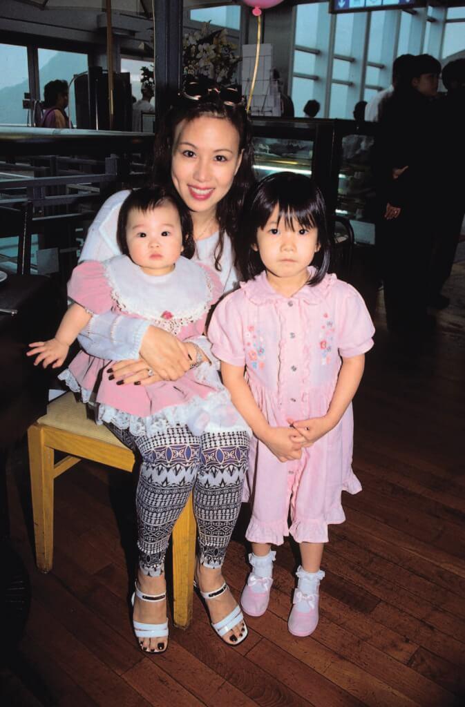 文雪兒有兩個女兒,照顧女兒是她拼搏的推動力。