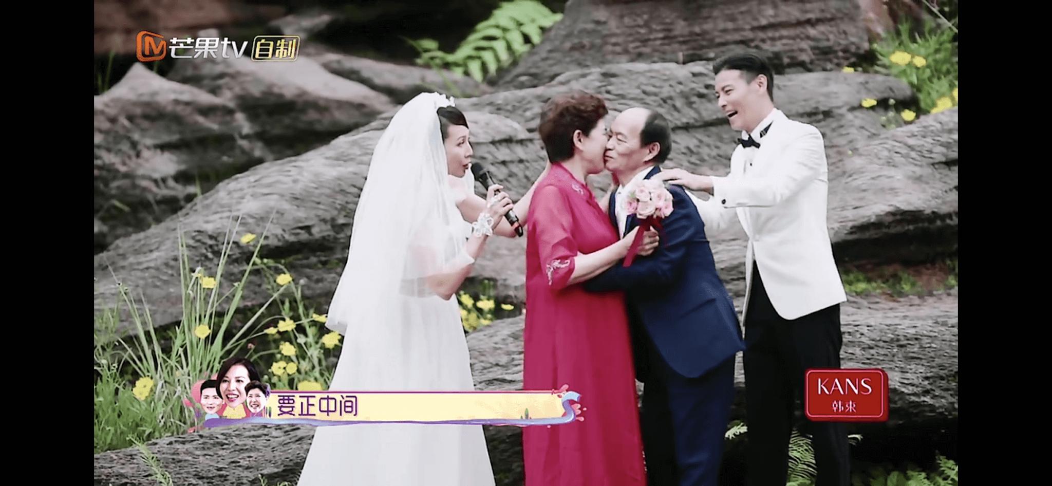 拍攝內地綜藝節目《我最愛的女人們》,Ada和張晉再次穿起婚紗禮服拍攝婚照,當時Ada已懷了第三胎。