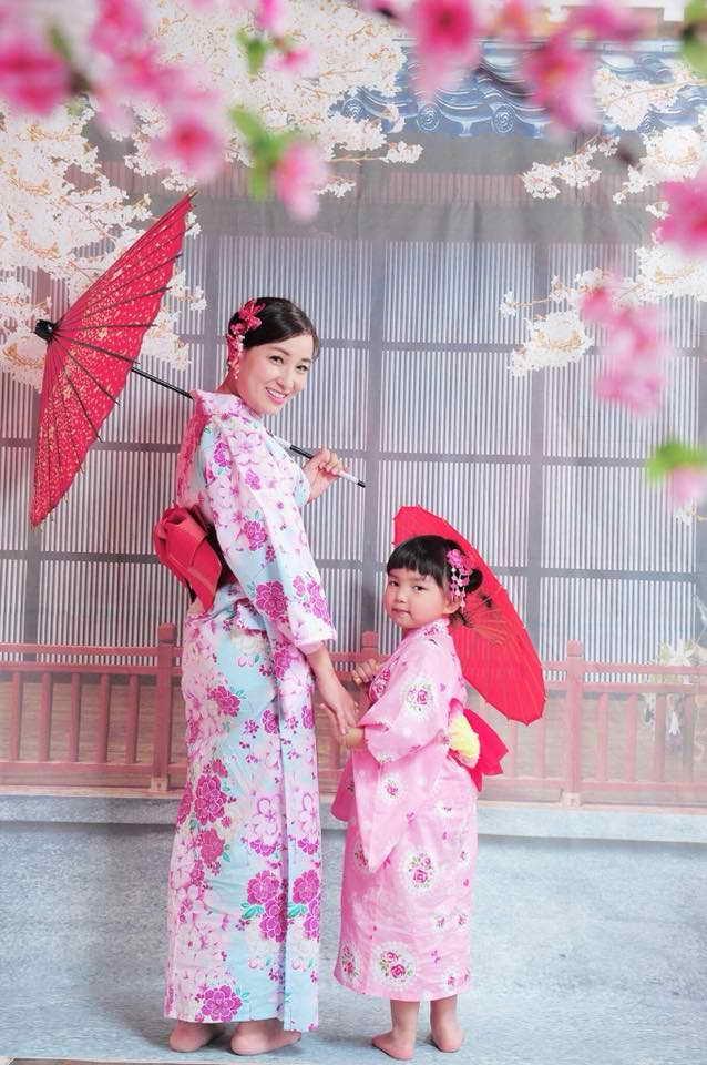 這輯在台灣拍的日本造型照,原來是麥雅緻離家出走那一次拍下的。