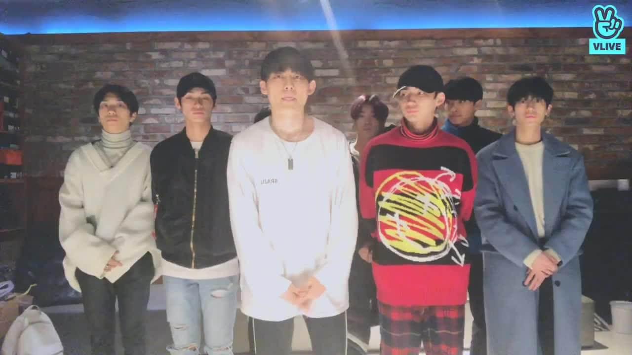 TRCNG其餘八名成員事後開直播,宣布隊伍將以八人體活動。