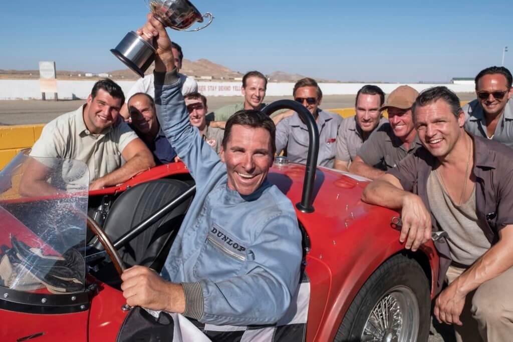 基斯頓片中效力福特前,已是充滿實力的不平凡車手。