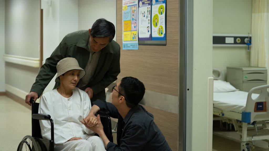 電影是紀念已故的媽媽,馬仔每次寫劇本也忍不住哭。