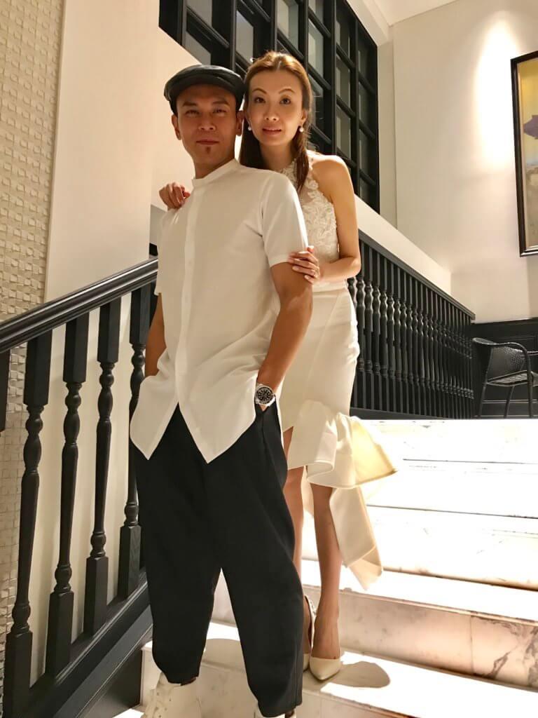 李天翔前年與拍拖六年的譚寶怡結婚,二人更到沖繩舉行浪漫婚禮。