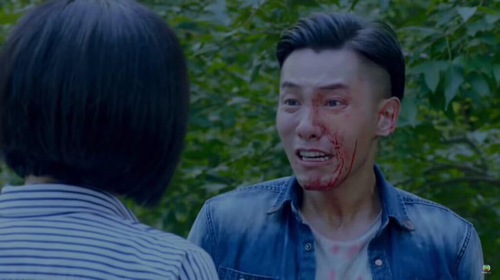 在《解決師》中,阿康發現爸爸是警隊內鬼時痛哭,演技獲觀眾大讚。