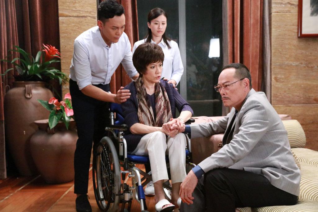 李天翔與劇中父母羅樂林及苗可秀,均是好戲之人。