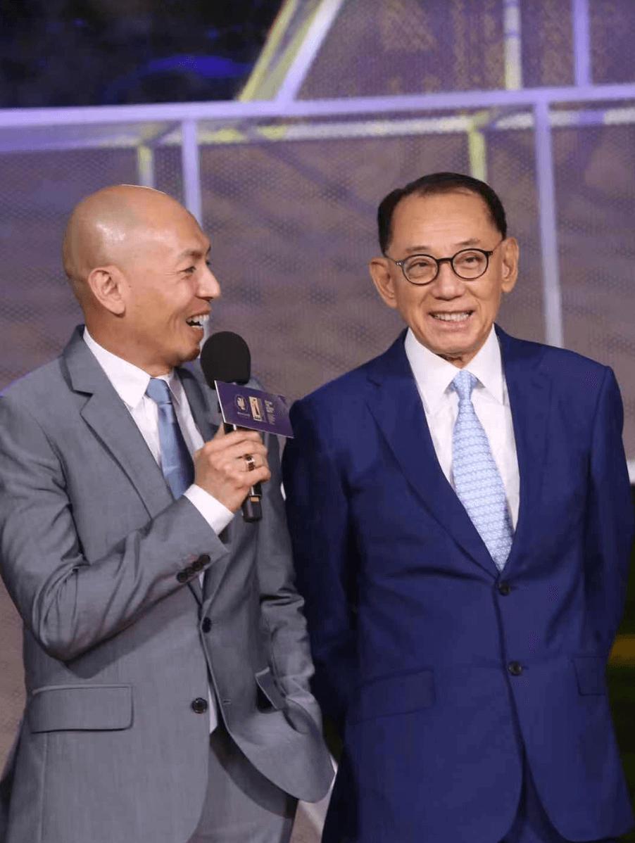 在楊受成的大力支持下,林超賢導演屢創個人事業高峯