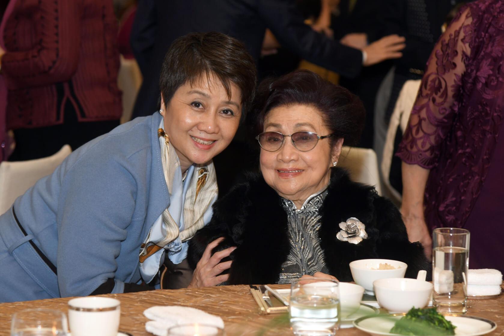 仙姐與梁安琪