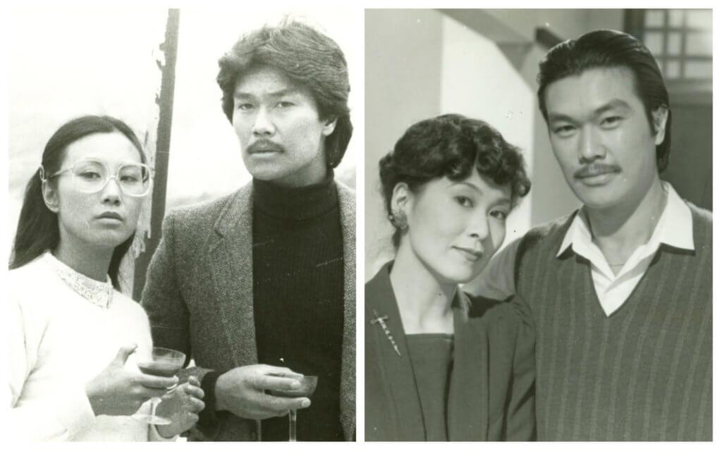 黃錦燊拍無綫劇常配當家花旦,在《四季情》中的女友是汪明荃(左),《山水有相逢》中則配李司棋。