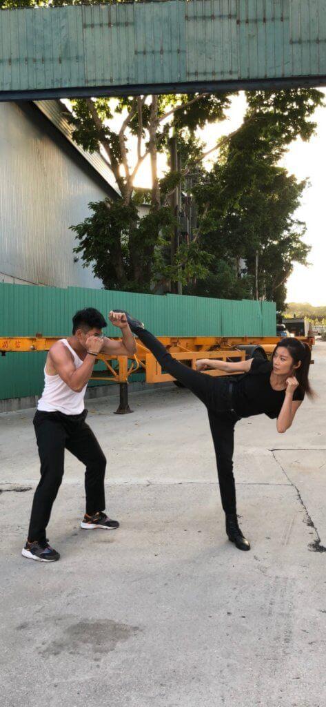 楊柳青自從轉型做武打演員,事業見起色。