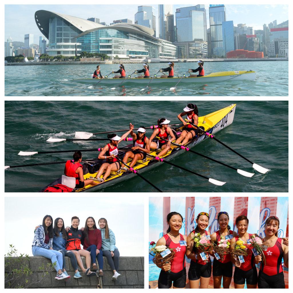 女子賽艇隊世錦賽後,燃起鬥志希望亞運會能代表香港出賽。