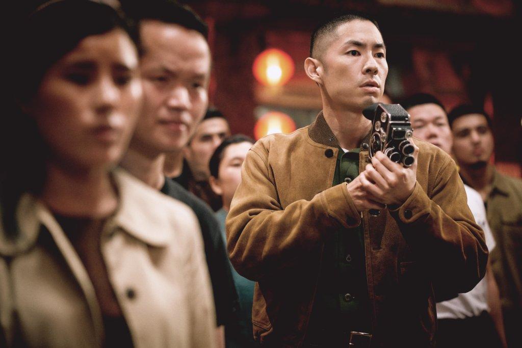 吳建豪飾演美國海軍陸戰隊的華籍軍官。