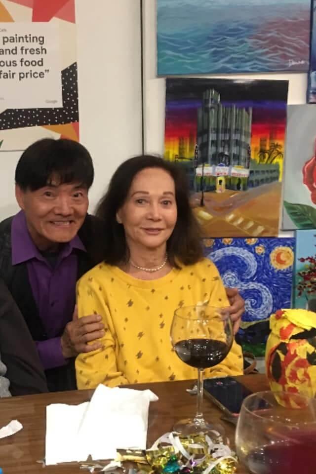 當年憑《蘇絲黃的世界》一炮而紅的關南施亦是長居美國,她今年亦有出席Danny的生日飯局。