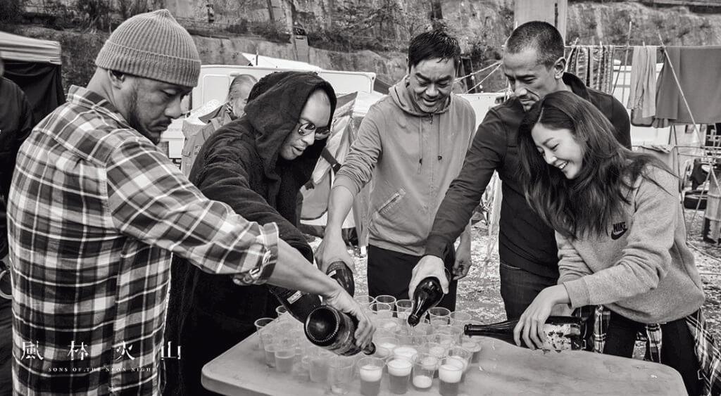 入行十二年,衛詩雅終於有機會與劉青雲在《風林火山》合作演出。