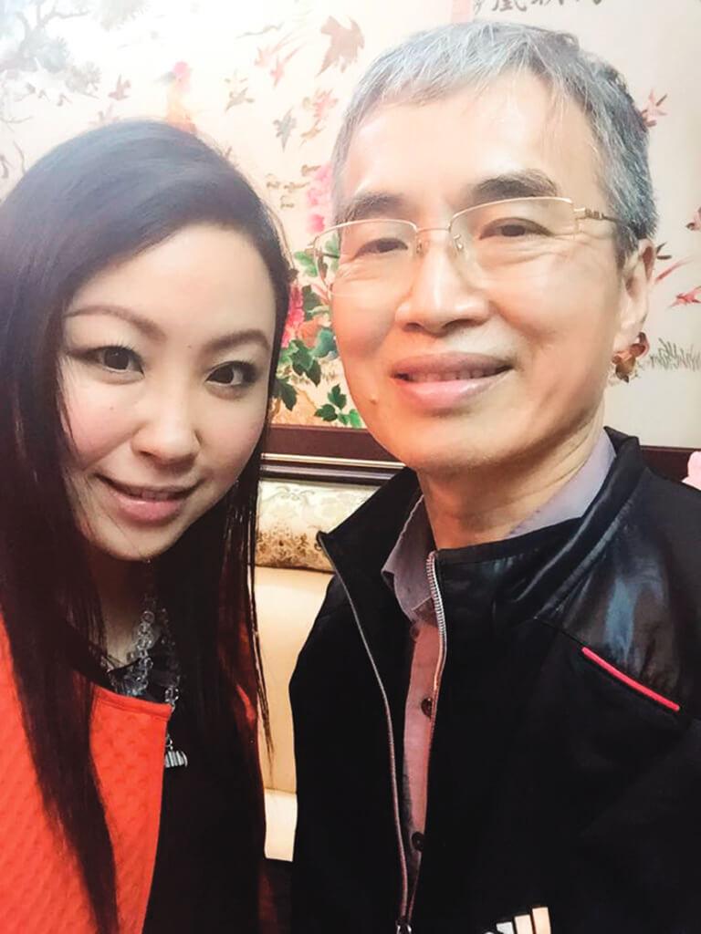 多年不見,楊詩敏終於約父親吃飯,「我們見面就好像分手很多年的情侶一般。」