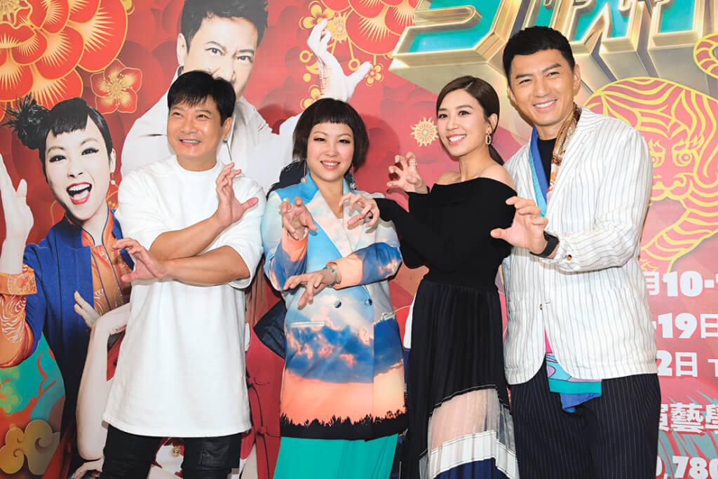 明年一月,蝦頭將會演出潘嘉德擔任監製舞台劇《今晚打老虎》,與袁偉豪、黃智雯和錢嘉樂合作。