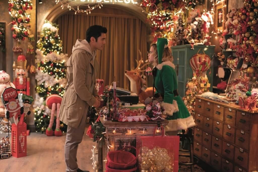 電影《舊年聖誕好戀嚟》由Wham!名曲啟發而來