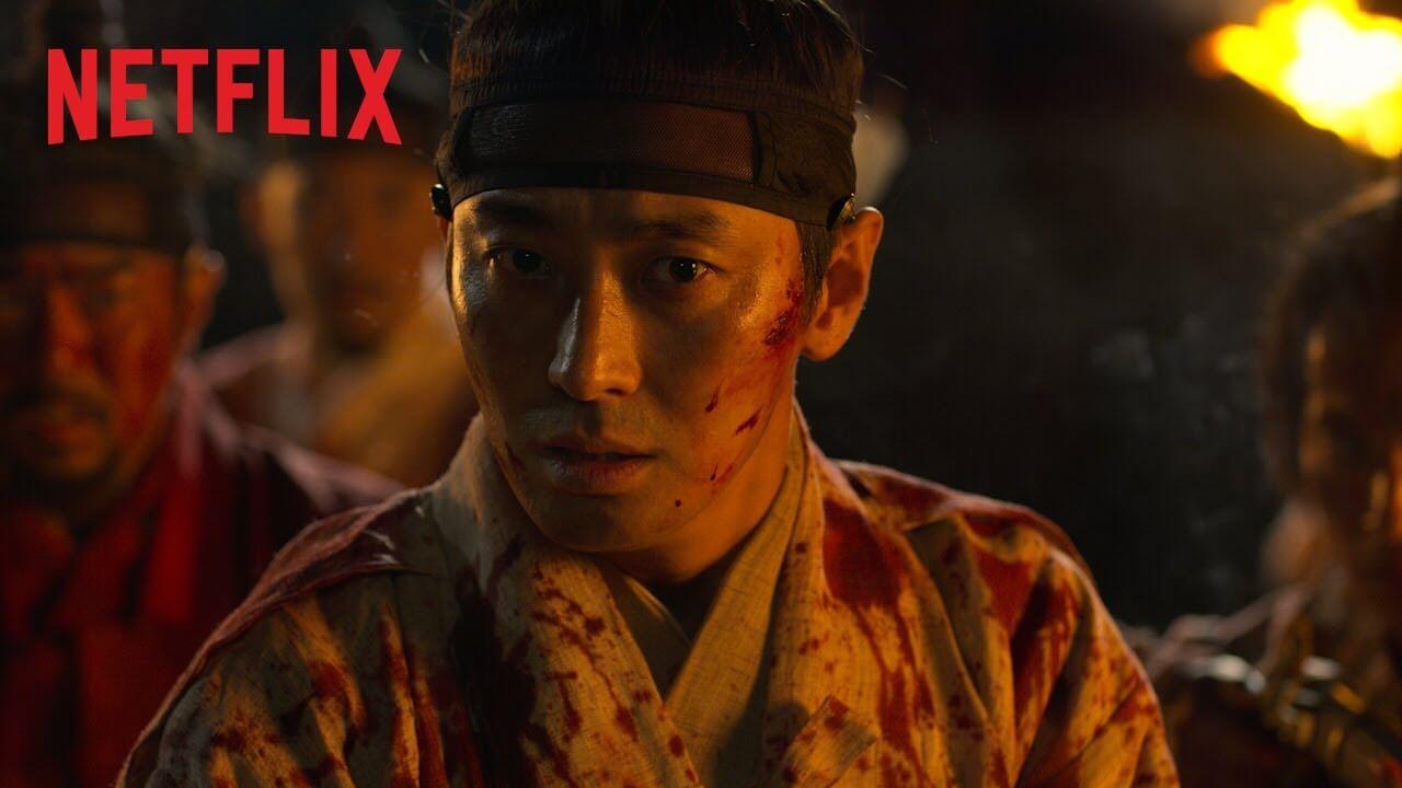 《李屍朝鮮》近日公開了一系列新預告片,短短十多秒已經嚇破膽。