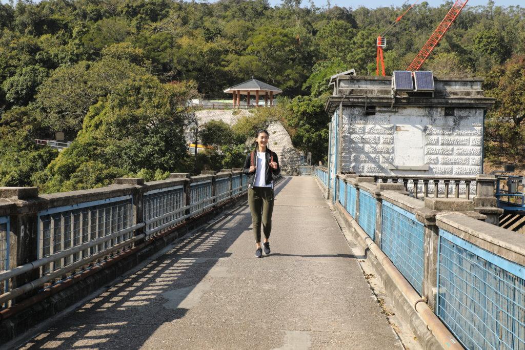 今次是她第二次行這條路線,雖然天氣很冷,但心情興奮。
