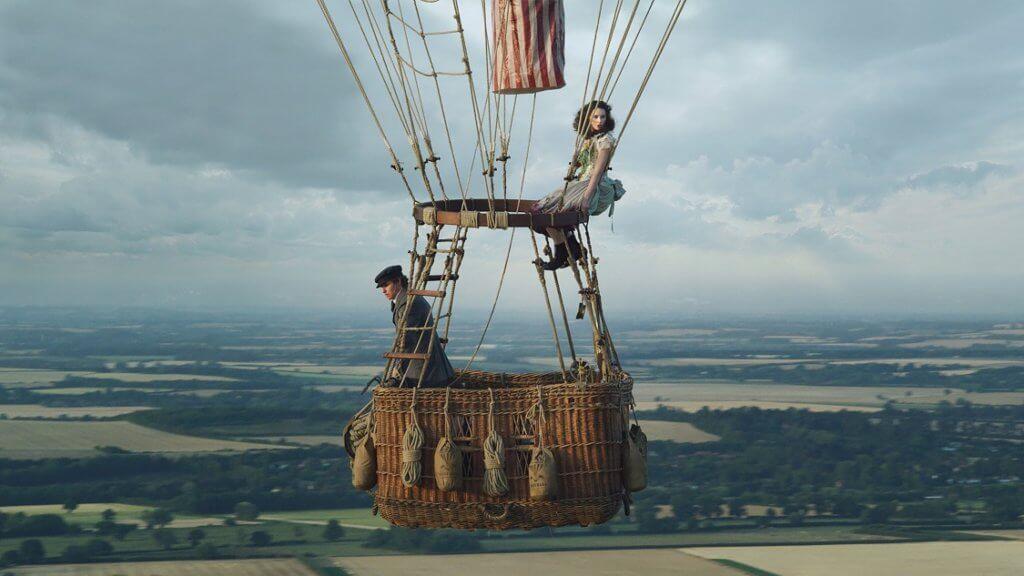 《熱氣球飛行家》講述十九世紀一男一女挑戰升空極限,探索氣象變化。