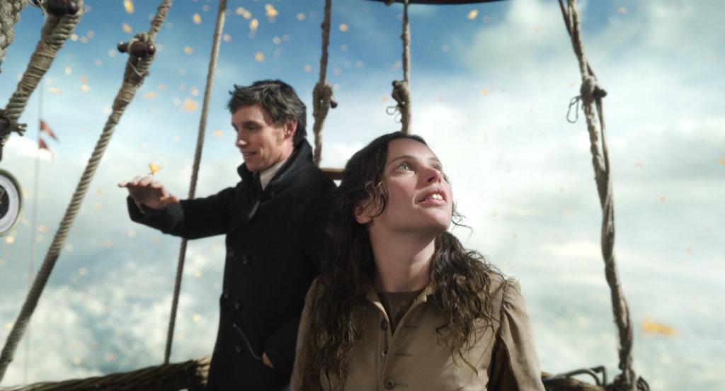 艾迪與菲莉絲在《熱氣球飛行家》第二度合作,充滿默契。