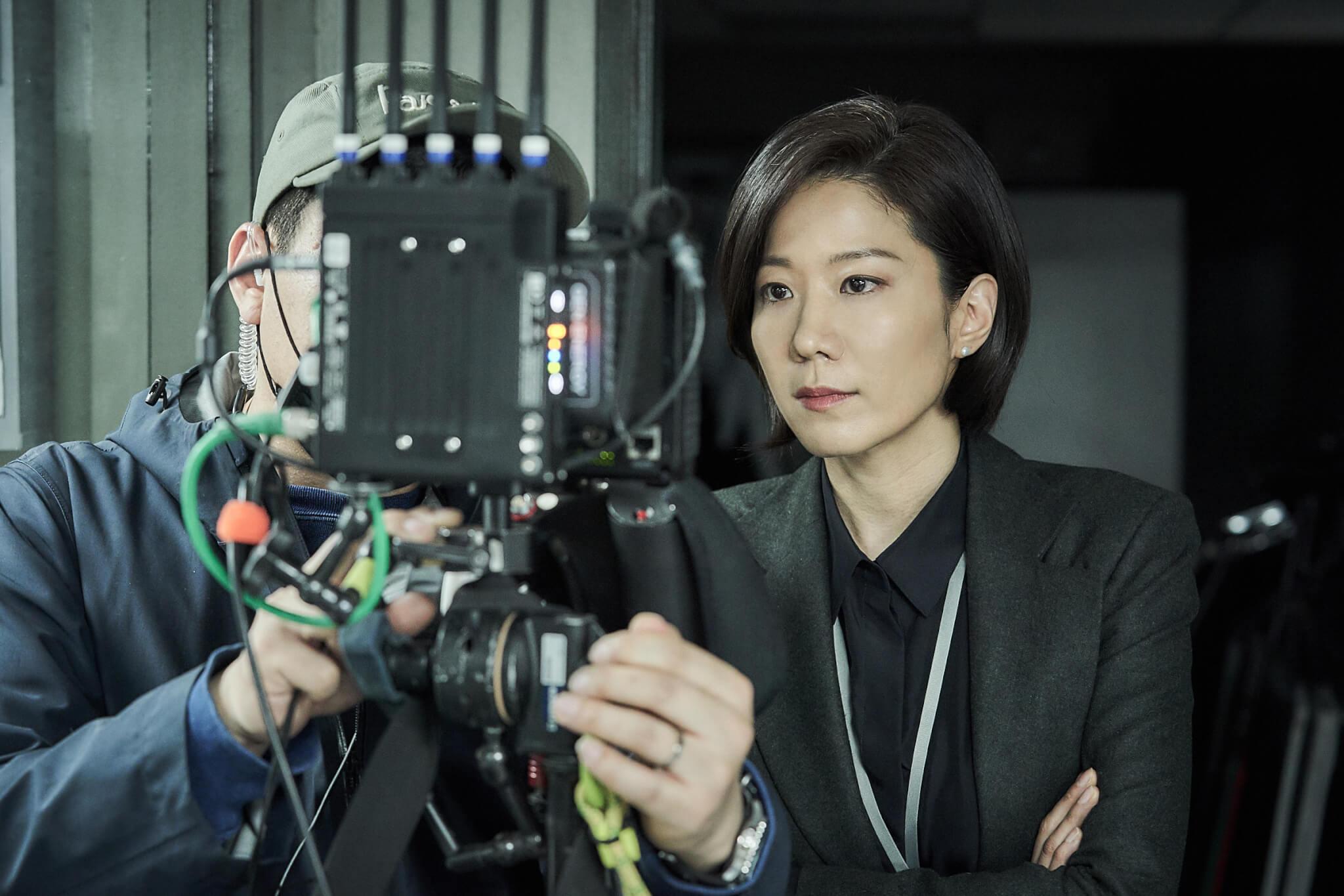 全慧珍飾演南韓青瓦台的高官,角色在電影起到重要的作用。