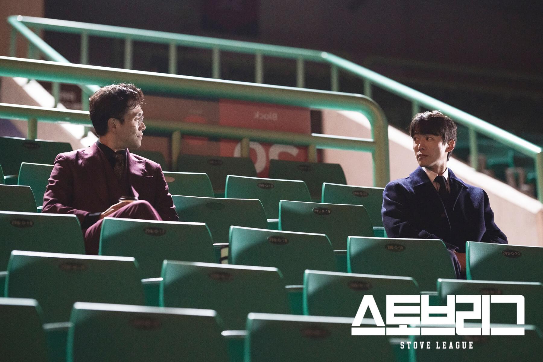 吳正世和南宮珉現實中份屬好友,在劇中卻要互相對峙。
