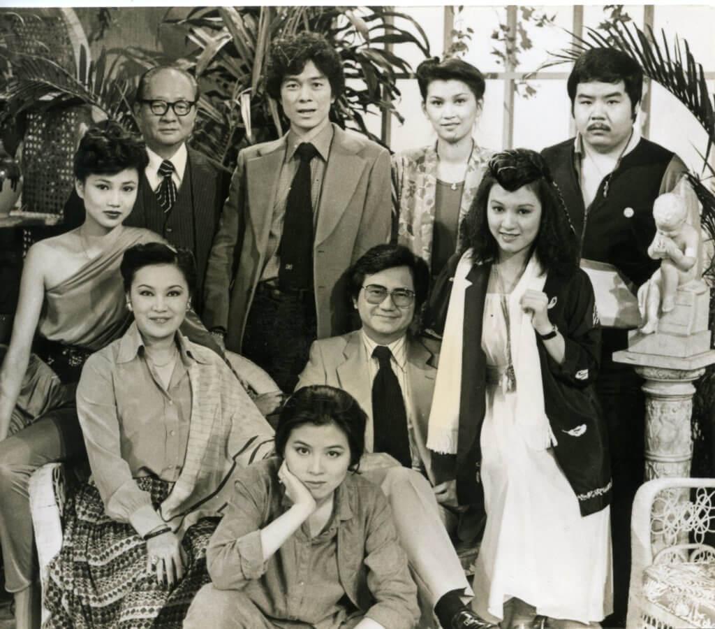 《網中人》是無綫七十年代的經典劇集,大AL在劇中飾范雨。
