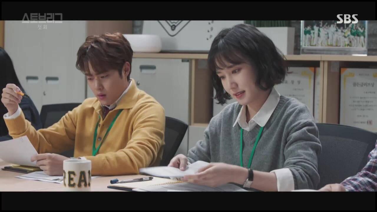 童星出身的朴恩斌(右)飾演女一,拍檔趙炳圭曾在劇集記者招待會笑言朴恩斌入行的年份就是自己的歲數。