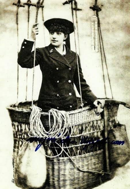 第一位女氣球飛行員蘇菲布蘭查德