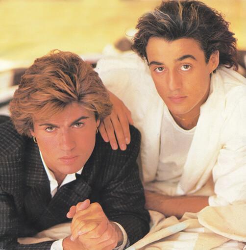 佐治(左)與Andrew組成的Wham!在八十年代紅極一時