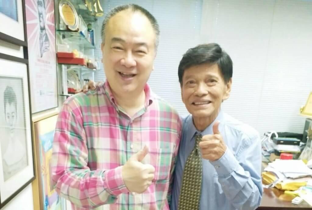 高志森前年主辦昌哥的告別騷,大讚對方敬業樂業。