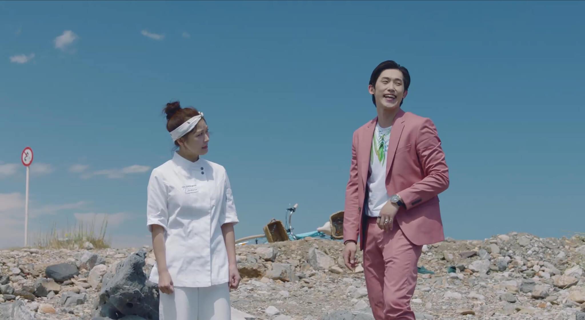 《阿爾罕布拉宮的回憶》男星閔鎮雄飾演河智苑弟弟,在劇中是個不務正業的騙子,專為家姊帶來煩惱。