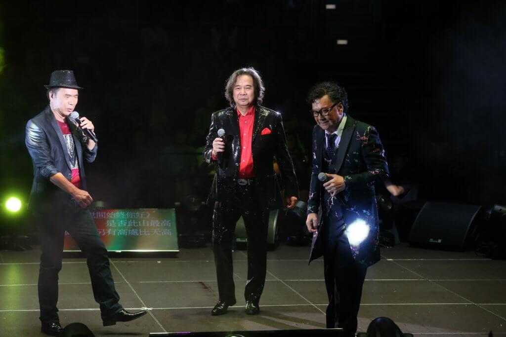 大AL前年與威利及李隆基舉行演唱會,成為不少銀髮族的集體回憶。