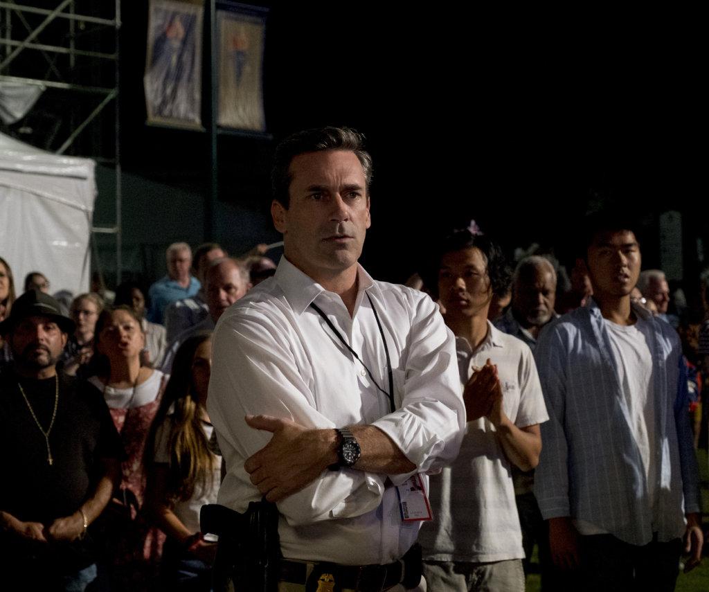 《廣告狂人》男星尊咸姆飾演行為卑劣的FBI,令人齒冷。