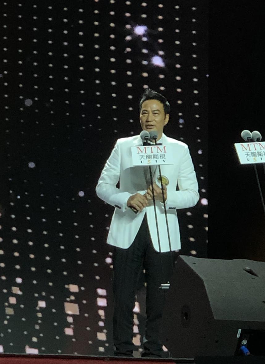 華哥憑劇集《破冰行動》贏得最佳男配角