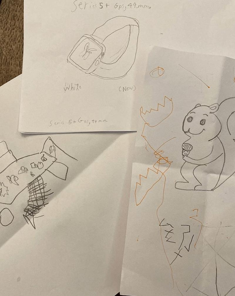孩子想要的禮物