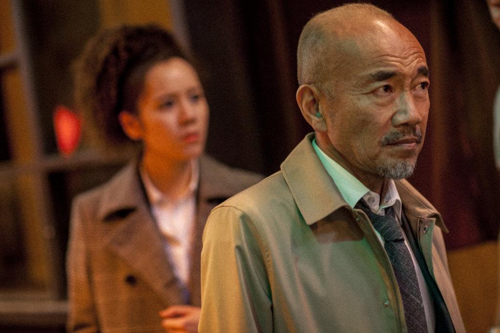 日本演員竹中直人於《肥龍過江》中飾演來自日本的警察,與子丹有不少對手戲。