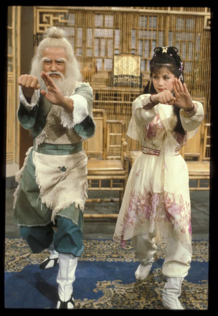 劉丹在《射鵰英雄傳》與翁美玲分別飾演洪七公及黃蓉,向來慣演反派的劉丹亦因此轉型演較輕鬆搞笑的角色。