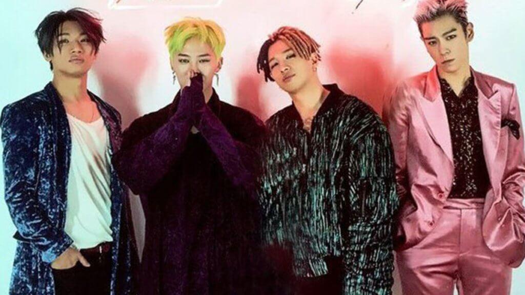 BIGBANG 現時以四人組合形式活動,四月加州演出可說是為回歸樂壇試水溫。