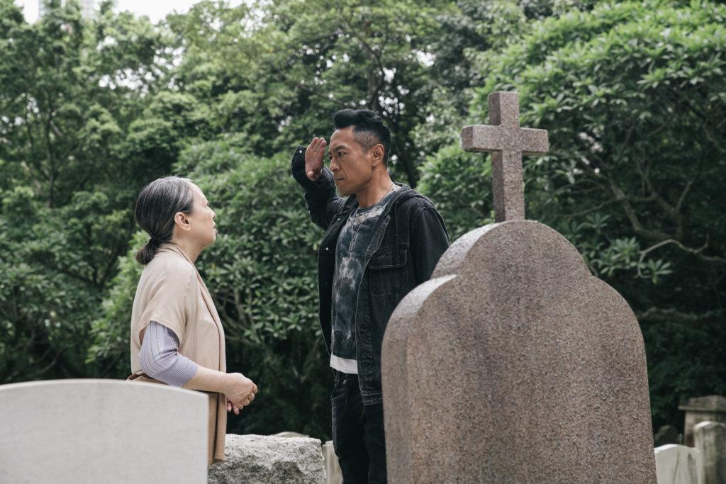 黑仔在劇集《鐵探》飾演盧宛茵兒子,憑該劇提名視帝。