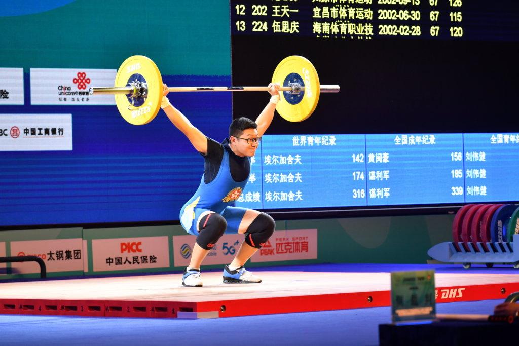 李博軒一年前接觸舉重運動,開始有了夢想和目標。