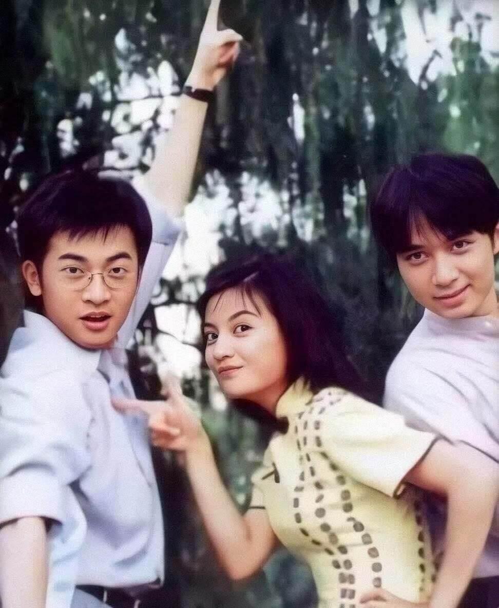 廿年前,青春逼人的蘇有朋、趙薇、古巨基。